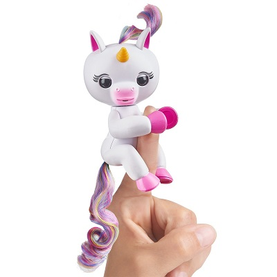 Fingerlings unicornio gigi interactivo