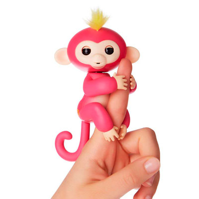 fingerlings bella mono rosa