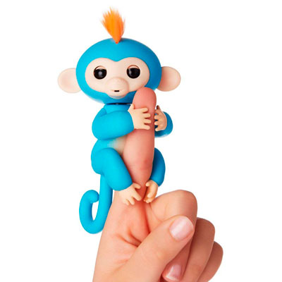 fingerlings boris mono azul