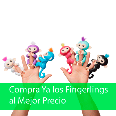 Comprar Fingerlings - Monos Interactivos