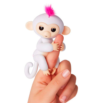 fingerlings sophie mono blanco